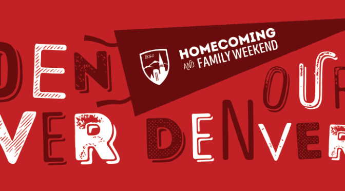 Homecoming Weekend – It's that time again!