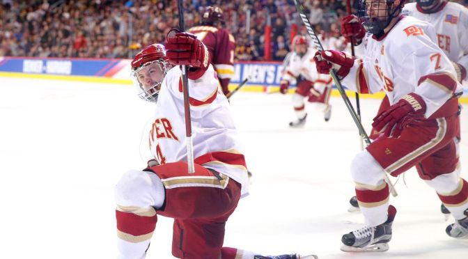 Crimson & Gold Show Episode 7: Previewing Denver's third trip to the Frozen Four in four years
