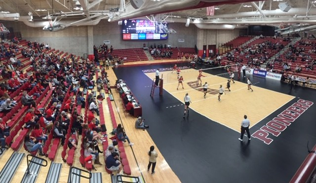 Denver Volleyball Battles Tough but falls to South Dakota in Summit League Title Game