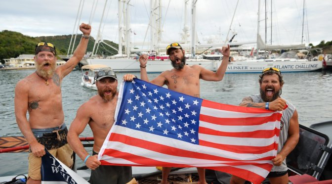 Mission Accomplished: DU-affiliated Fight Oar Die completes 3,000-mile row