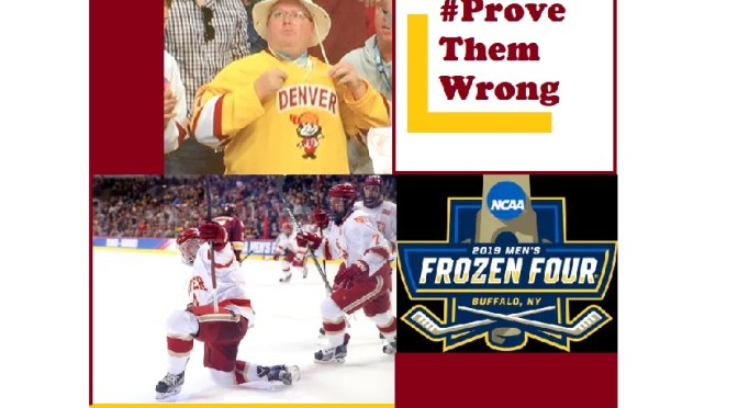 Dynamic Duo travels to Buffalo for the Frozen Four