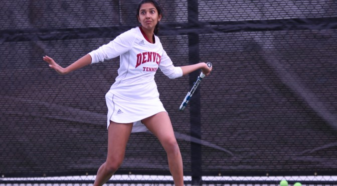 One down, two more to go: DU women's tennis continues Pac-12 series with Arizona, Arizona State