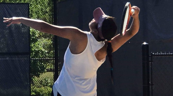 DU women's tennis dispatches South Dakota in Summit Tournament, will play Omaha in finals Saturday