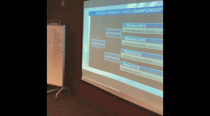 Get to ready to rock (and chalk): DU women's tennis gets NCAA rematch with Kansas