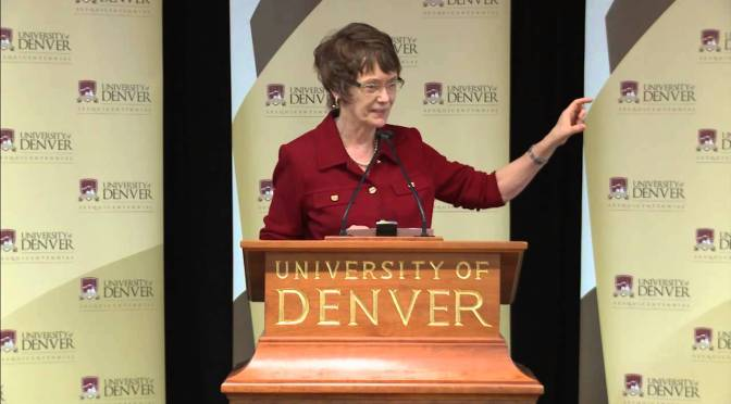 DU Chancellor Rebecca Chopp to Step Down Due to Health Issues