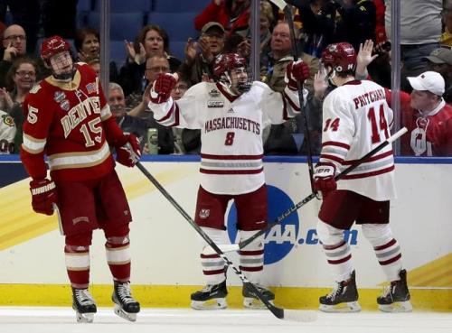 Pioneers drop overtime Frozen Four thriller to UMass-Amherst
