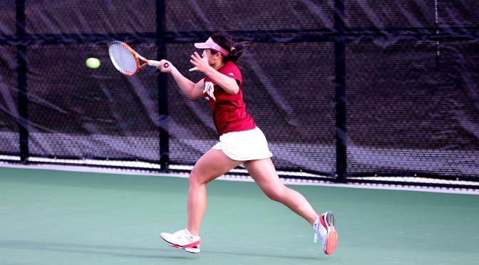 Big Comeback Falls Short; Nerves doom Mok in NCAA women's singles tournament