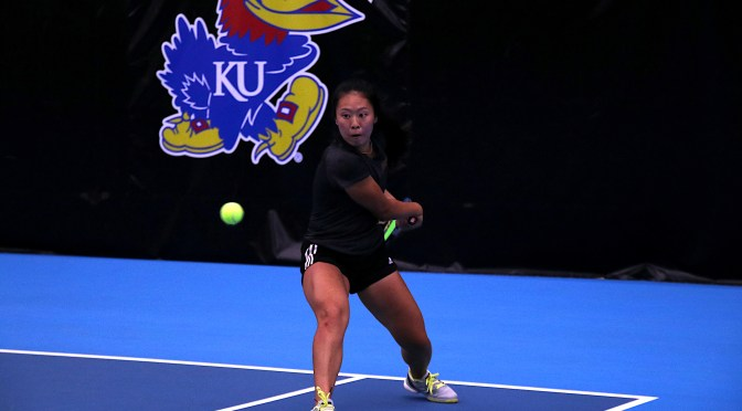 """I think we're all ready to get revenge"": DU women's tennis out to shock Kansas in the NCAAs"