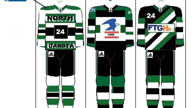 North Dakota Fighting Hawks launch new hockey uniforms