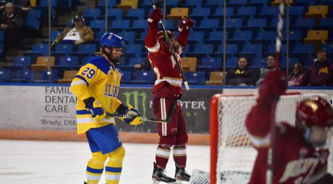 Heart Attack Pios: Ryan Barrow's last-minute goal lifts Denver to road sweep