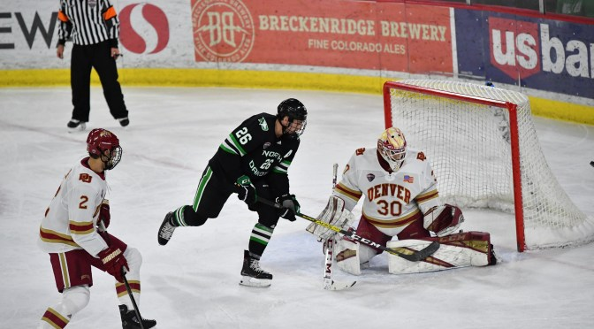 Denver lays egg against North Dakota in 4-1 loss to extend winless streak to four games