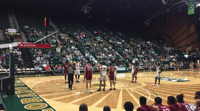Denver falls to Colorado State in Opener 74-63