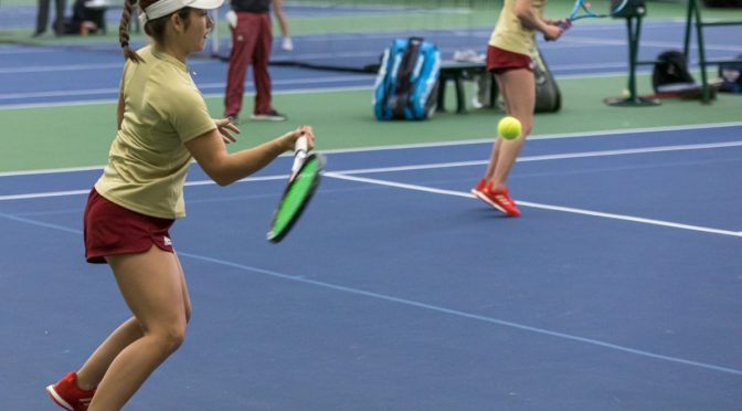 Pioneer Women's Tennis Crushes Two Opponents in Opening Weekend