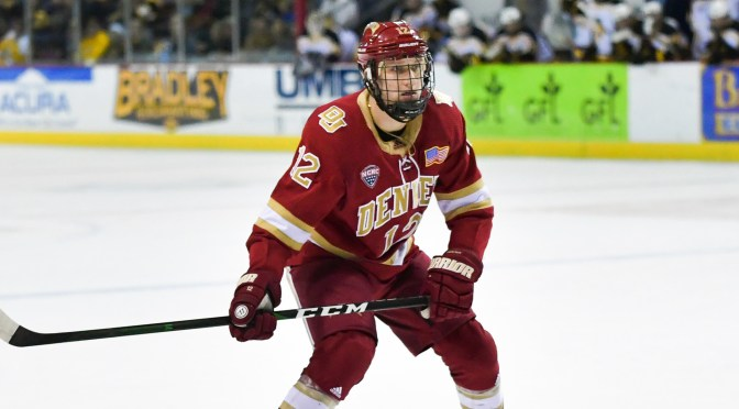 Kohen Olischefski leads Denver to first NCHC road sweep of season in Miami (the one in Ohio)
