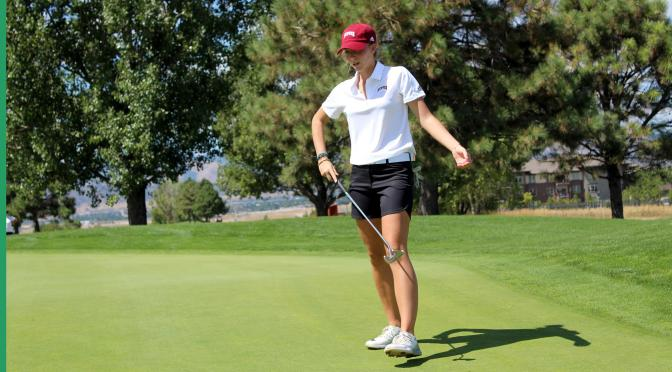 DU's Anna Zanusso ties all-time NCAA Record for low round in golf, firing 61!