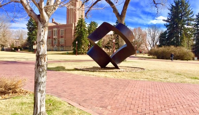 4 Minutes of DU's Sights & Sounds: Bullet Proof Sculpture and Carnegie Green