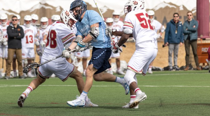 Denver's fourth-quarter rally falls short against UNC as they fall 15-13