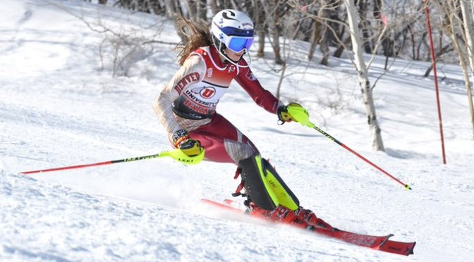 DU Surges to Team Lead on Day 1 of NCAA Skiing Championships