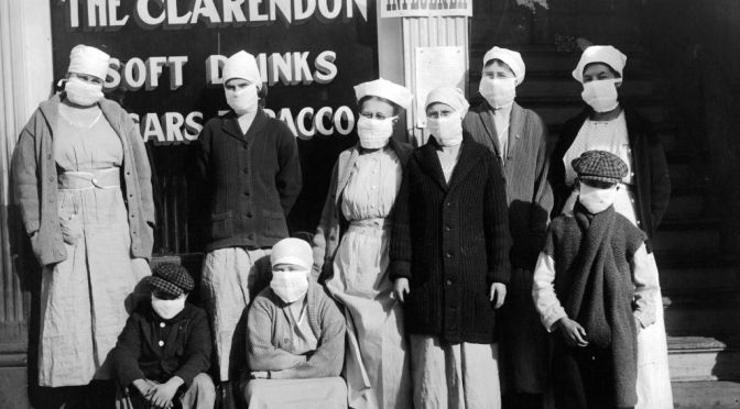 The Spanish Flu: DU, CC, CU, and Lessons Learned