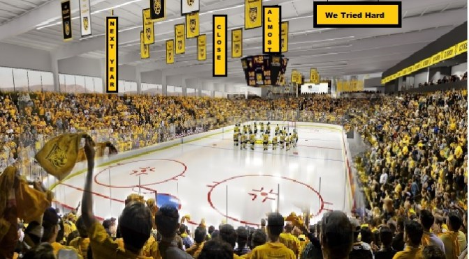 Colorado College Donates Banners for a Good Cause