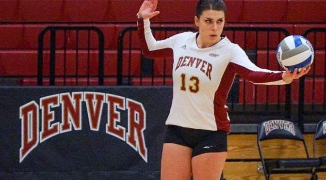 Denver Sweeps Omaha to Open Volleyball Season