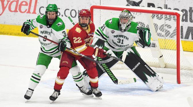 Offensive Struggles and Penalties Haunt Denver in North Dakota 5-2 Loss