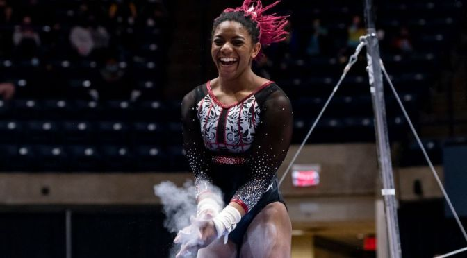 ESPN: Lynnzee Brown's incredible path to the 2021 NCAA gymnastics championships