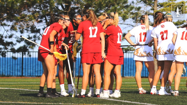 Denver Women's Lacrosse Stuns Undefeated Stanford, 15-13, in NCAA First Round