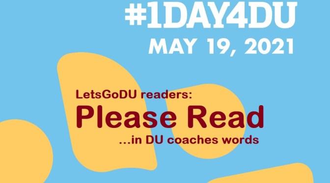 #1Day4DU – Spotlight on Women's Athletics