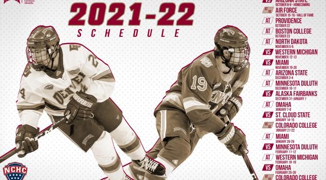 Denver Hockey Releases 2021-2022 Schedule