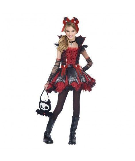 Disfraz de vampiresa Cool nia infantil para Halloween
