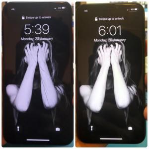 觀塘iPhoneX換玻璃