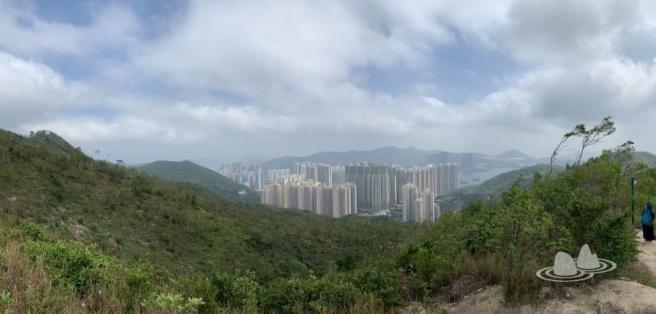 港鐵油塘站>魔鬼山 (炮台山) 碉堡 >澳景路>五桂山>馬游塘村