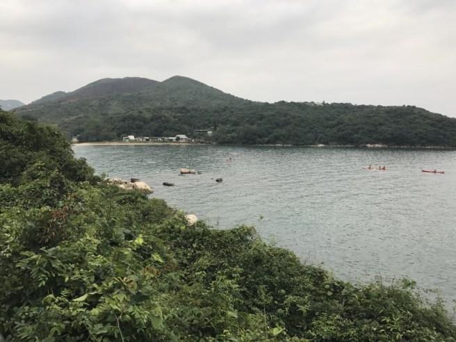 北潭凹>麥理浩徑第2段>赤徑>大浪坳>東龍二輋>蛋家灣>高流灣