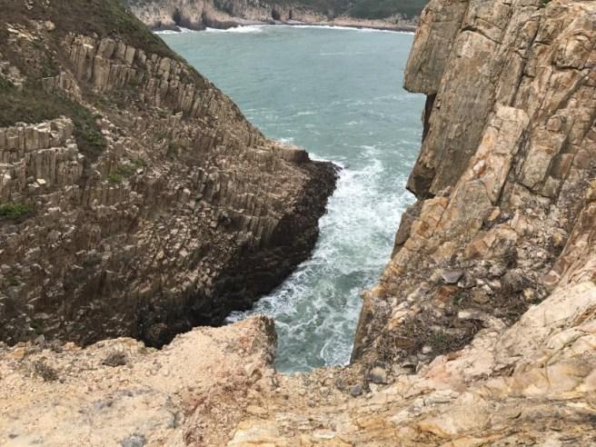白腊村>倒腕崖>小破邊>木棉洞>七重石灘>萬柱海岸>觀洞坳>破邊洲>萬宜水庫東壩