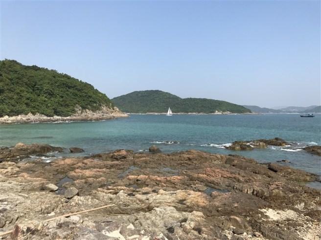 香港科技大學>白水碗>露營灣海灘>竹角路
