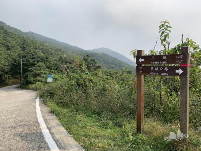 荃錦公路>麥理浩徑第8段>禾塘崗>大帽山>響石墳場>川龍