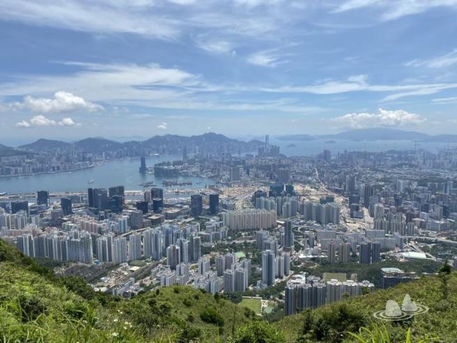 清水灣道>飛鵝山道>328石級>飛鵝山>328石級>飛鵝山道>清水灣道