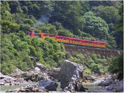嵐山小火車保津峽