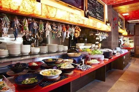 京都河原町三條Resol飯店早餐