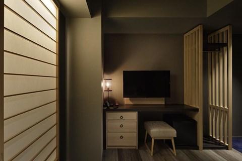 京都河原町三條Resol飯店小型雙人房
