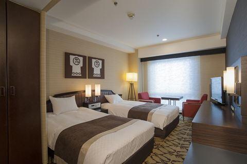 京都新阪急酒店中型雙床