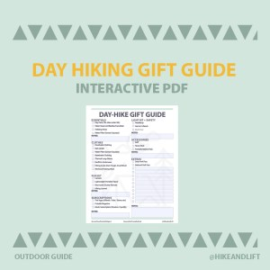 Day Hike Gift Guide