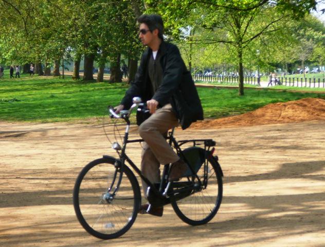 Dapper Chap in Hyde Park
