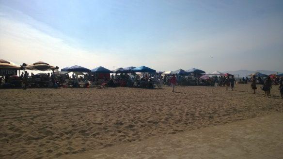 Americani in spiaggia