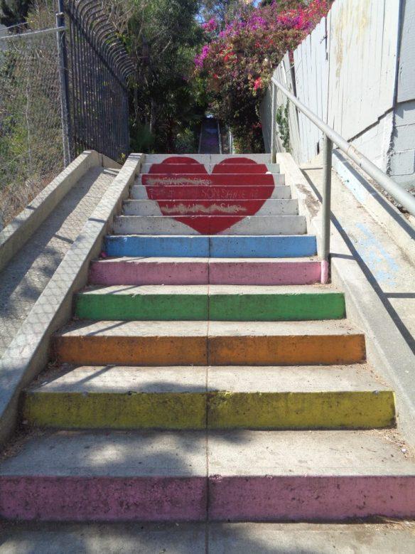 Micheltorena stairs - Silver Lake