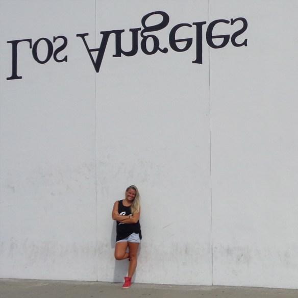 Los Angeles wall