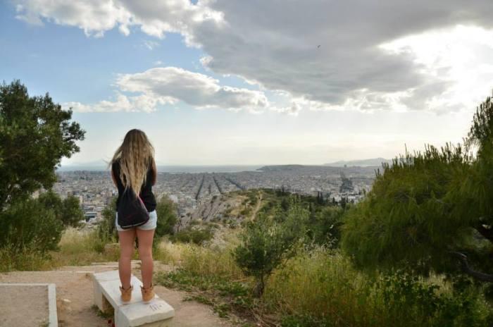 Atene dall'alto