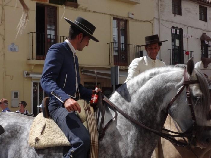Feria di Ronda: personaggi a cavallo