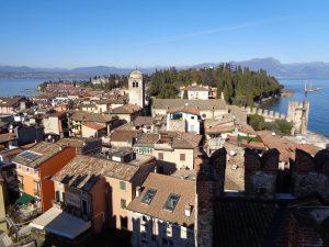 Sirmione panorama dal castello scaligero